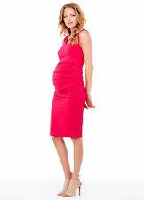Ingrid & Isabel Sleeveless Pleated Maternity Tank Dress Small 4 6 & Medium 8 10