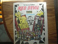 8 Fireworks Flyers - 4 pages - Red Devil - Ameican Eagle - Old Glory - 1990