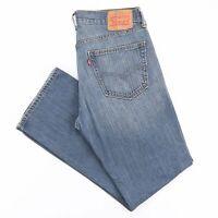 Vintage LEVI'S 559 Blue Denim Relaxed Straight Jeans Mens W34 L32