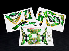 Xtreme DJI Phantom 2 Green Pre-Cut Body Sticker Set XDJI-02A
