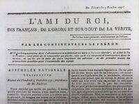 Orgères en 1791 Ille et Vilaine Nanteau sur Essonne Cambrai Révolution Fr