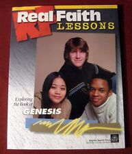 Christian Real Faith Genesis Youth Senior High Study Lesson Bible Church Teacher