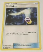 Tag Switch Pokemon Card - 209/236 Unified Minds Trainer - Near Mint