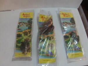 Animal and Reptile – three rubber Creatures in original Packaging c1960s