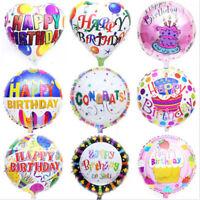 2x joyeux anniversaire papier aluminium ballon décoration de fête de mariage
