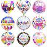 2X Joyeux Anniversaire Papier Aluminium Ballon Décoration De Fête De Mariage FE