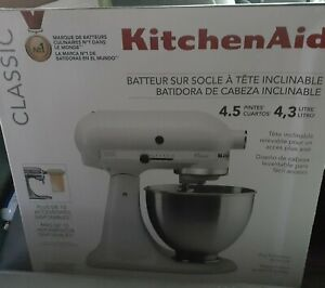 brand new white Kitchenaid Stand Mixer 4.5-qt. FREE SHIPPING ONLY FOR EAST COAST