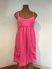 Cute Victoria's Secret PINK Pink Swim Cover-up Cotton Knit Dress Sz S