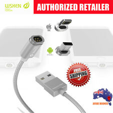 WSKEN mini2 lightning/Micro-USB Magnetic Charging Cable/Charger 4 iPhone/Samsung