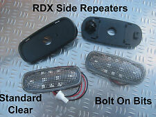 RDX LED Standard CLEAR Side repeaters Defender 1998 to 2016 Td5 & Tdci ONLY