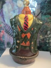 """0273  MEN""""S DRESS FORM  TRINKET BOX    GIFT TO GO WITH CASH /CHECK"""