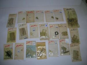 KEMTRON HO BRASS , ETC. 20 PIECES LOT ,  PARTS ONLY / AS IS , LOT # 21392