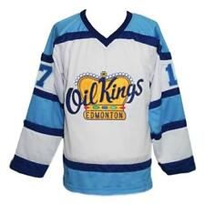 Custom Name   Edmonton Oil Kings Retro Hockey Jersey New White Semchuk Any  Size c5df26abc