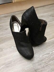 Belle Women Shiny High Heel Platform Shoes UK6 Eur 39 New