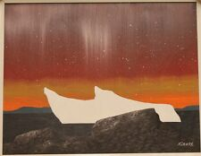 INUIT ORIGINAL OILS ON PANEL BY KEN KIRKBY