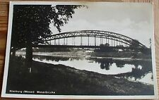 AK 1934: Nienburg/Weser Weserbrücke