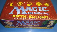 Magic the Gathering Mtg Empty 5th edition Booster box!
