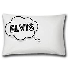 Dreaming Of ELVIS Pillow Case | ELVIS PRESLEY | Novelty | Funny | Dream | Bed