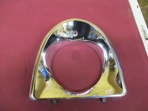 1956 Packard Clipper L.H. Headlamp Chrome Door 6480504 NOS