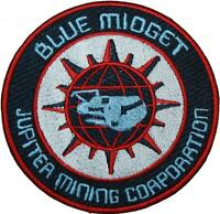 Red Dwarf Blue Midget Badge Embroidered Patch 10cm