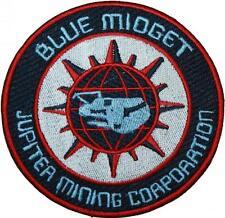 Red Dwarf Blue Midget Badge Embroidered Patch 10cm