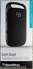 Genuine Original Blackberry Curve 9320 9310 9220 Soft Shell Case Cover - Black