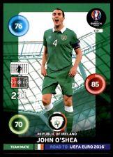 Panini Road to EURO 2016 Adrenalyn XL John O'Shea Republic of Ireland No. 110