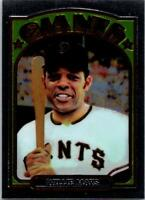 WILLIE MAYS 1996 Topps Commemorative Chrome Reprint #26 ($0.75 MAX SHIPPING)