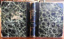 1833 French Almanac Laensberg book woodcut illustrated edition Celestial