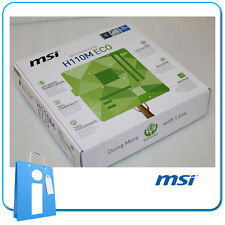 Placa base mATX H110 MSI H110M ECO Socket 1151 con Accesorios