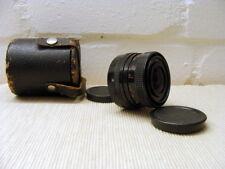 """Carl ZEISS Obiettivo-MC Flektogon 2.4/35mm BLACK m42 """"pacchetto accessori"""" - TOP!"""