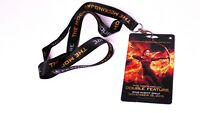 Hunger Games THE MOCKINGJAY PART 2 Double Feature Pass Lanyard 2015 Collectible