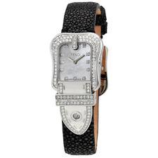 Fendi B.Fendi White Mother of Pearl Dial Ladies Diamond Watch F383241PC1