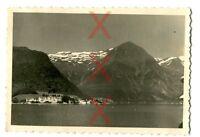 KREUZER EMDEN - orig. Foto - Norwegen, Balholm, Auslandsreise 1938