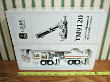 Grove TM9120 Carrier-Mounted Hydraulic Crane White Version By NZG 1/50th Scale