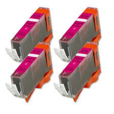 4 MAGENTA Ink Cartridge for Canon Printer CLI-221M MP640 MX860 MX870