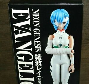 "EVANGELION MEDICOM FIGURE REI AYANAMI BANDAGE NEW SEALED 12"" REAL ACTION HEROES"