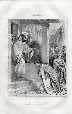 "gravure Humbeline "" Ah je suis coupable "" 1858"