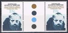 Australian Antarctic Territory postfris 1983 MNH 60 gutter pair- Treaty Canberra