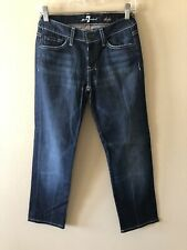 Ladies Seven For All Mankind Dojo Straight Jeans Size 25 X 27