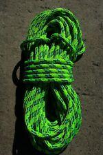 "Sterling 24 Strand Arborist Rope, Tree Climbing Line 7/16"" x 89' Scion Green"