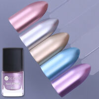 6ml UR SUGAR Metallic Mirror Nail Polish Metal Silver Rose Gold  Varnish