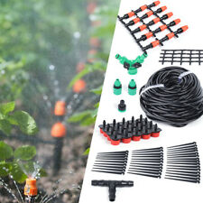 Outdoor 40m Micro Drip Irrigation System Diy Plant Self Watering Garden Hose