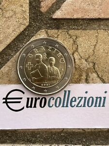 ITALIA 2021 2 EURO PROFESSIONI SANITARIE FDC UNC ITALY ITALIEN