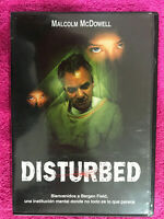 DISTURBED DVD ESP ING  MALCOLM MCDOWELL