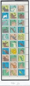 Colombia 1980 Learn To Write Complete Block of 30 MNH. Scott 879a - 879ad