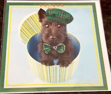 Mad Hatters Dog Themed Card by Tracks Cards. Blank Cards Pack of 6. 2 available.