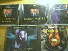 Barry White [5 CD] Gold + Practice + Album + Can't get
