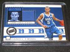 DANIEL EWING CERTIFIED ROOKIE GAMEUSED JERSEY CARD /600