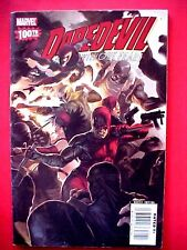 MARVEL COMICS DAREDEVIL # 100 OCT 2007 Elektra Black Widow Bullseye Kingpin